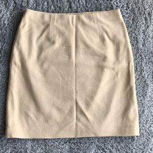 Ann Taylor Tan Skirt